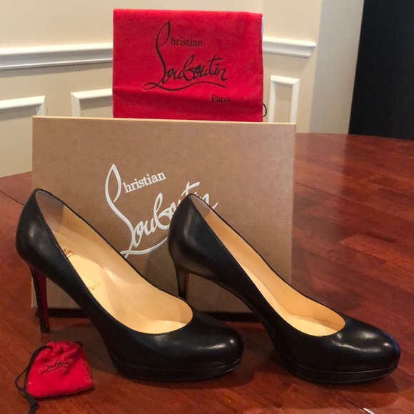 cheaper 5af01 4672f New Simple Pump 100 KID Christian LouBoutin black